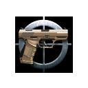 pistola do dever