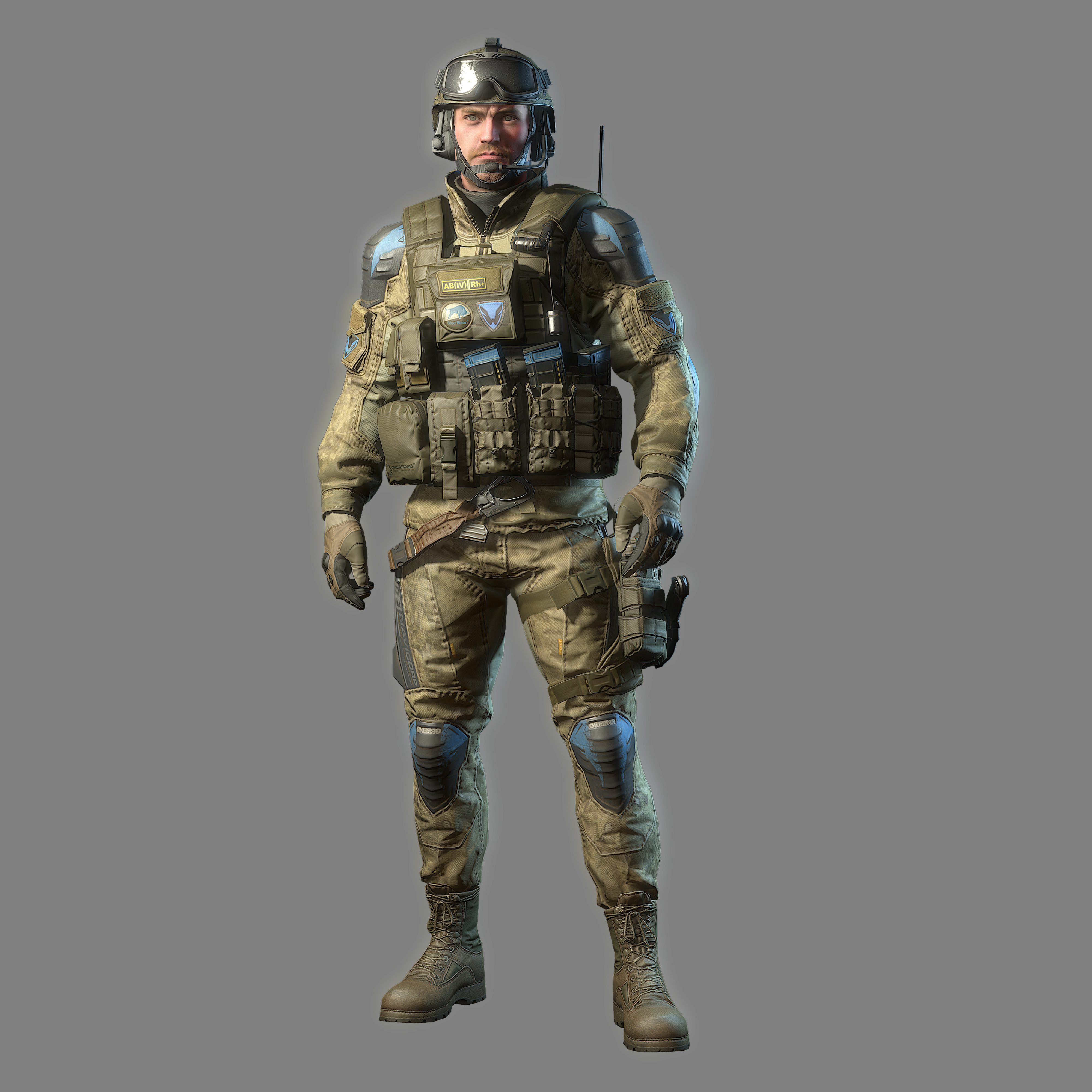 basic uniform soldier 02 wf