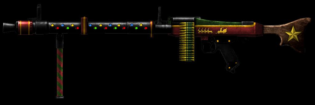 Distribua balas no Natal com armas temáticas!  ac0205b7e90