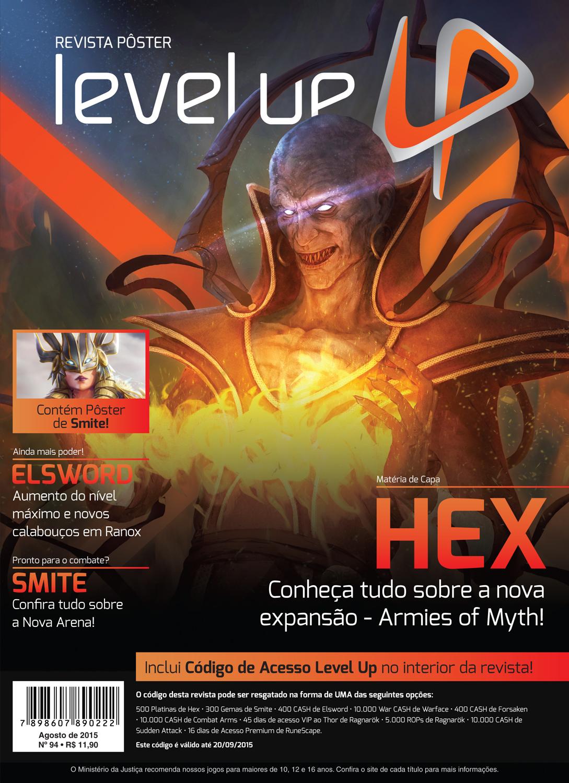 Está nas bancas a edição 94 da Revista Pôster Level Up