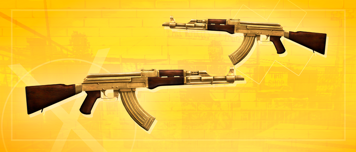 Divirta-se e pegue sua AK-47 Gold-Plated Visionary Perma