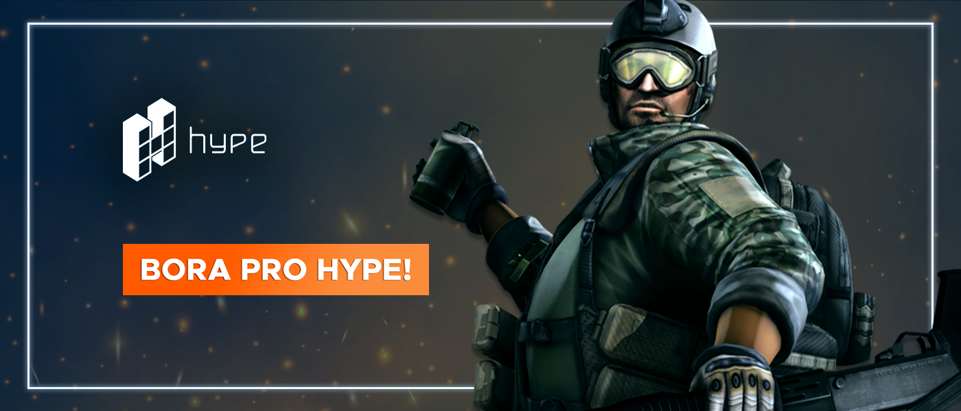 Bora pro Hype Games garantir CASH com o Pix