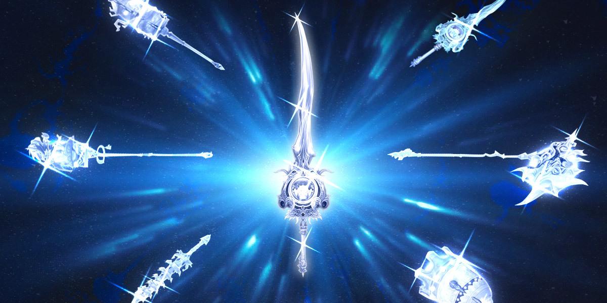 Reflita seu Esplendor interno em suas armas favoritas!