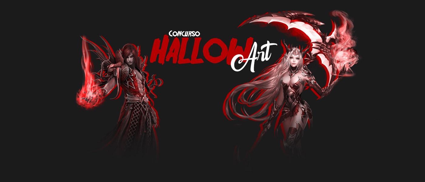 Vem aterrorizar no concurso HallowArt!