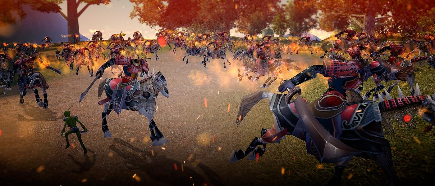 Celebre a chegada dos Reinos Combatentes com prêmios!