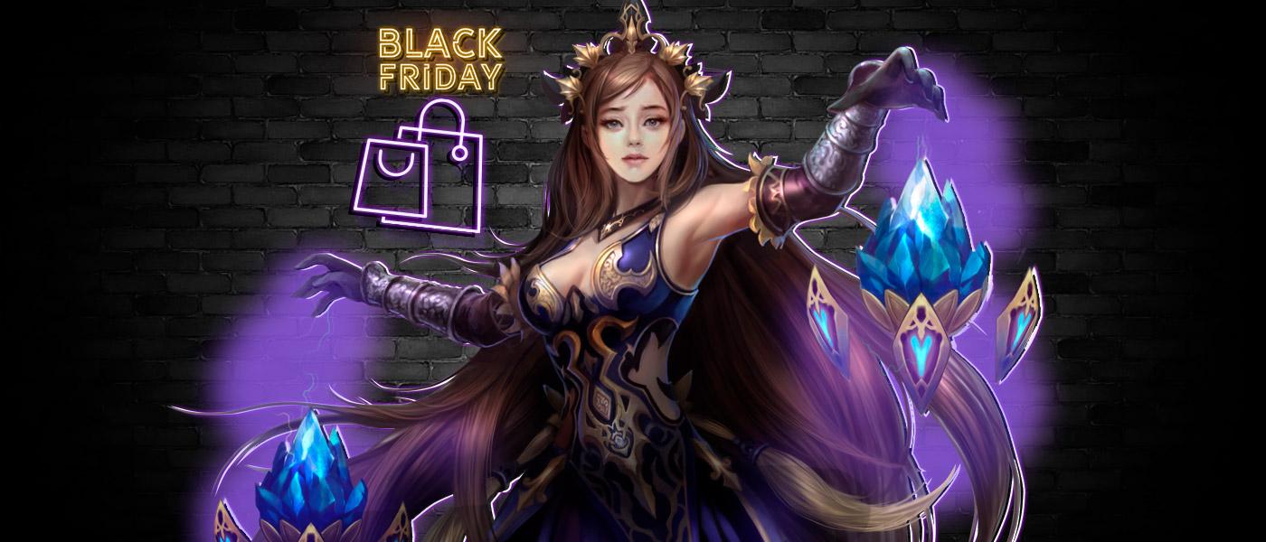 A Black Friday está em Pan Gu