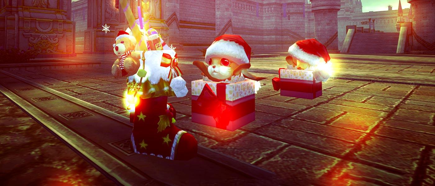 Celebre com seus prêmios dos eventos de Natal!