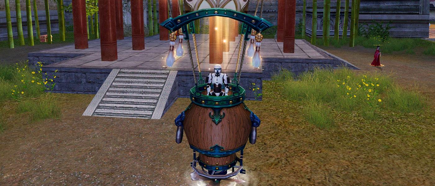 Muitas raridades na Lanterna Radiante e nos Pacote do Avatar