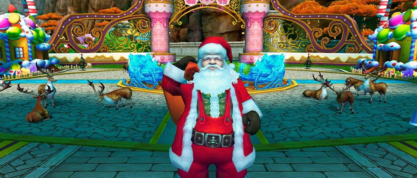 Festeje nos novos eventos de natal e pegue seus presentes!