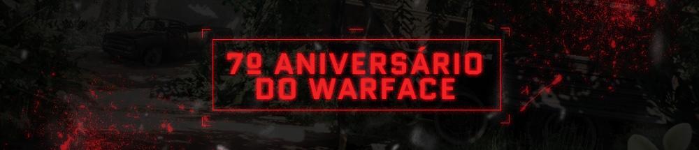 promoções de aniversário do warface