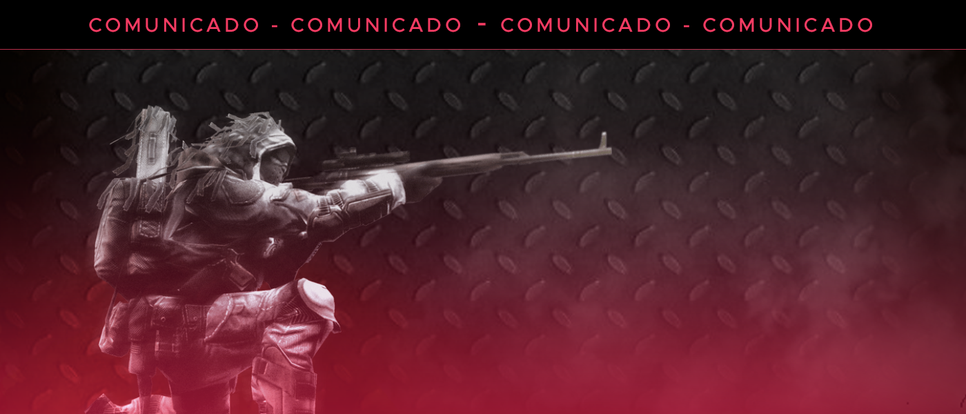 comunicado de migração do warface